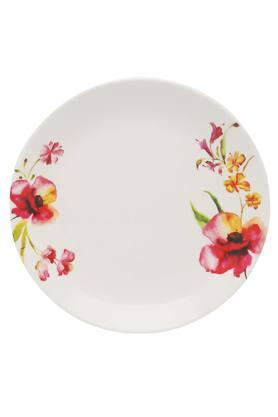 Four O Clock Round Floral Small Plate