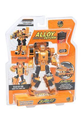 Unisex Metal Transformer Truck Toy