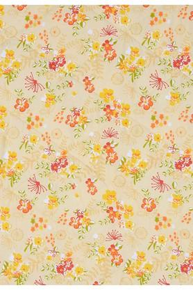 Orange and Yellow Floral Double AC Comfortor