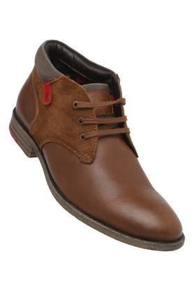 LEE COOPER Mens Casual Wear Lace Up Boots