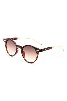 Unisex Round Polycarbonate Sunglasses