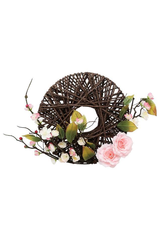 Cherry Blossom Bouquet With Hanging Basket