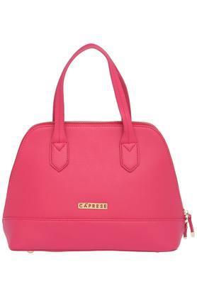 CAPRESEWomens Zipper Closure Satchel Handbag - 203883334_9308