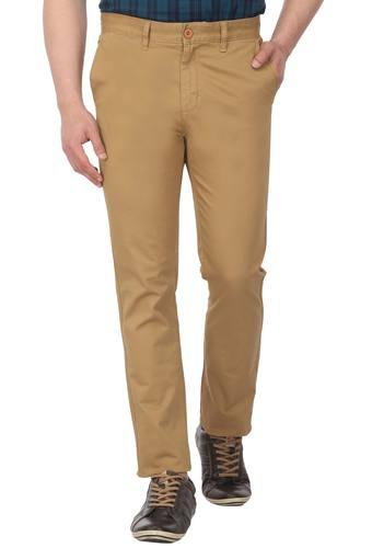 STOP -  KhakiCasual Trousers - Main