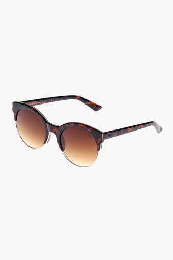 Womens Oval Polycarbonate Sunglasses - GL5023C10