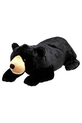 Unisex Black Bear Soft Toy