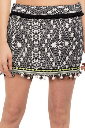 Womens Aztec Print Skirt