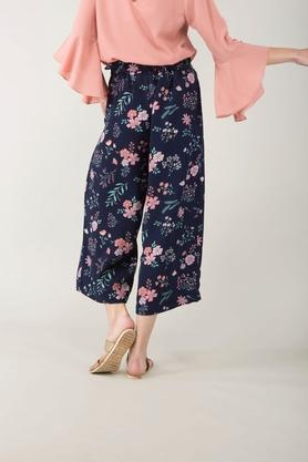 Womens 2 Pocket Printed Pants