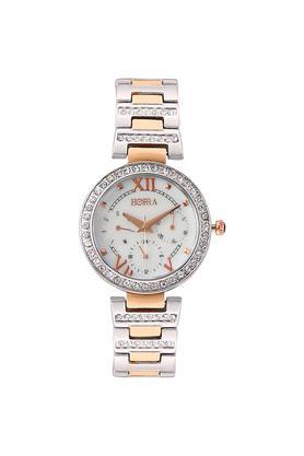 HORRAWomens Reina Series White Dial Analog Watch - PB817FRSMP38