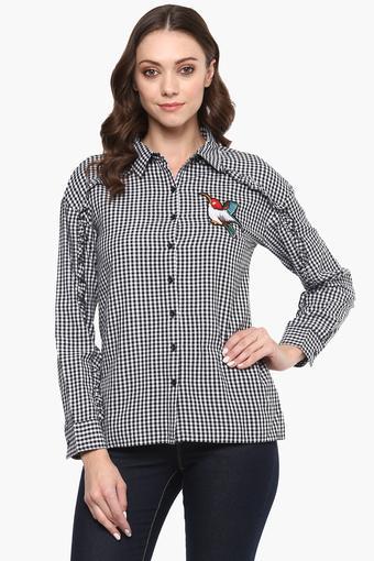 Womens Checked Shirt