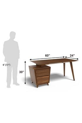 Brown Larry Study Table