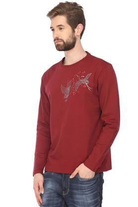 STOP - MaroonT-Shirts & Polos - 2