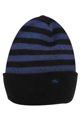 Mens Stripe Knitted Cap