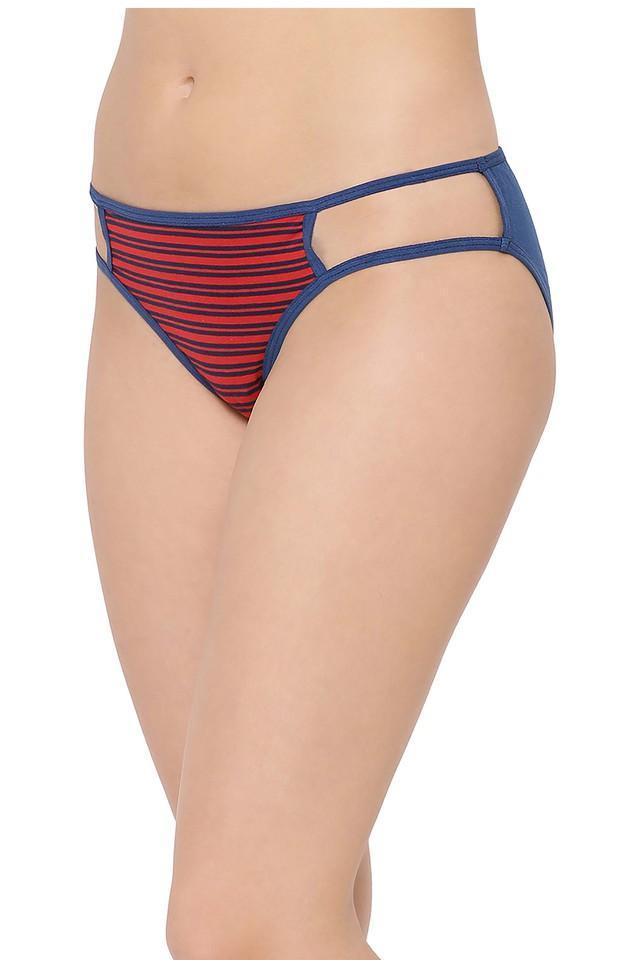 Womens Stripe Bikini Briefs