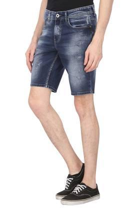 Mens 5 Pocket Heavy Wash Shorts