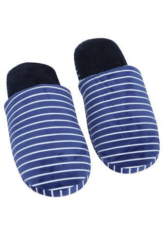 Stripe Slipon Bath Slippers