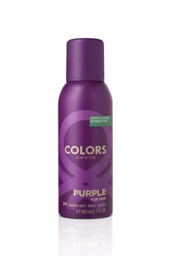 Colors Purple For Her Deodorant - 150ml