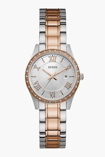 caea2e81c Buy GUESS Womens Analogue Metallic Watch - W0985L3 | Shoppers Stop
