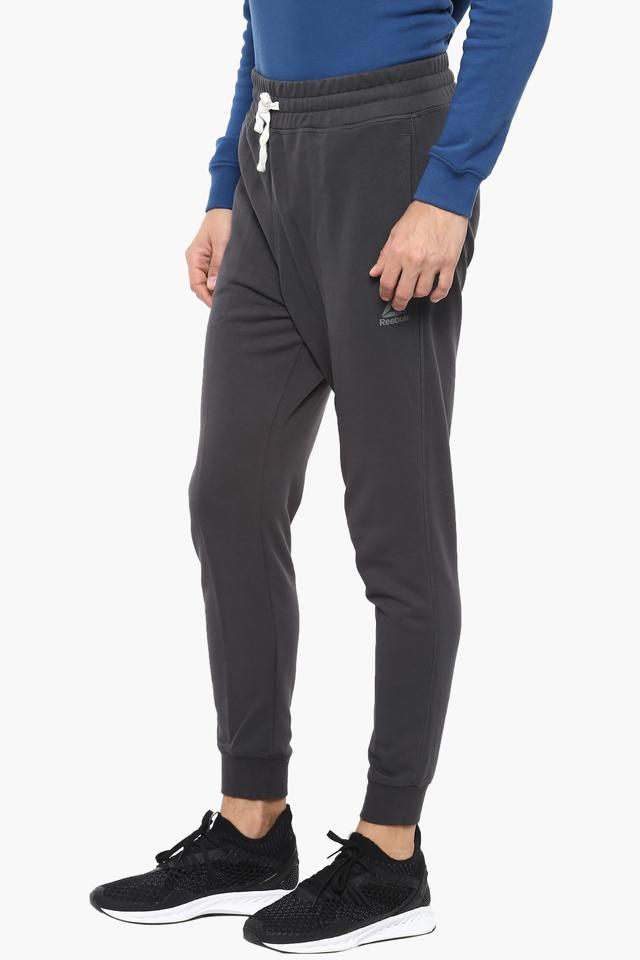 Mens 3 Pocket Solid Track Pants