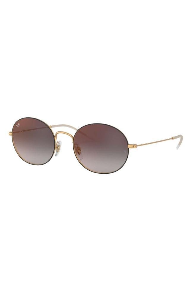 Unisex Round Gradient Sunglasses