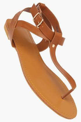 VAN HEUSEN Womens Casual Wear Buckle Closure Flats - 203155318