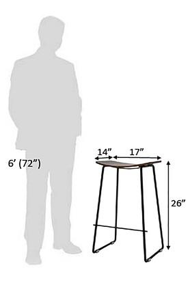 Natural Col Bar Stool