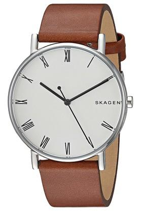 Mens Analogue Leather Watch - SKW6427I