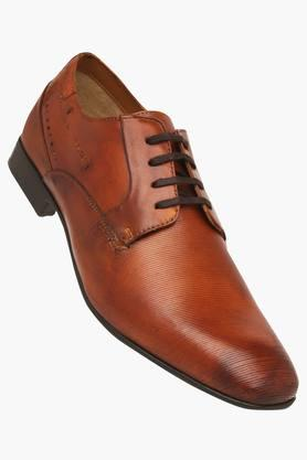 RUOSH Mens Leather Lace Up Derbys - 203106327