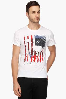Shoppersstop : Flat 50% to 60% Off On Life & Stop T- shirt + Free Shipping low price image 1