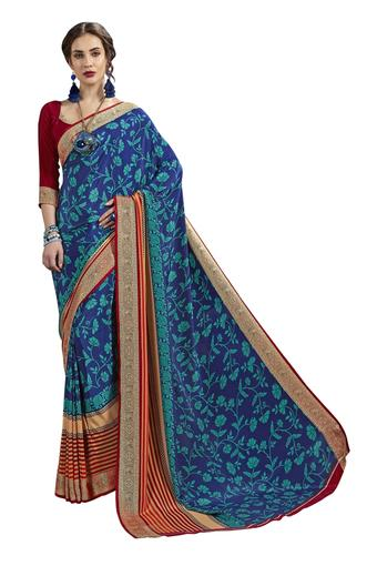 DEMARCA -  Blue Sarees - Main