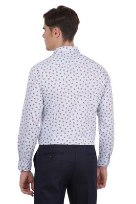 Mens Floral Print Formal Shirt