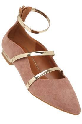 TRESMODEWomens Casual Wear Zipper Closure Ballerinas - 203823611_9557