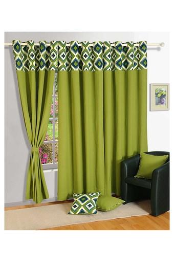 SWAYAM -  Green Curtains - Main