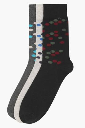 LIFE Mens Printed Socks Pack Of 3