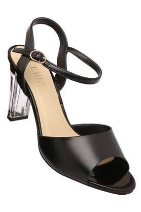 CERIZWomens Casual Wear Buckle Closure Heeled Sandals