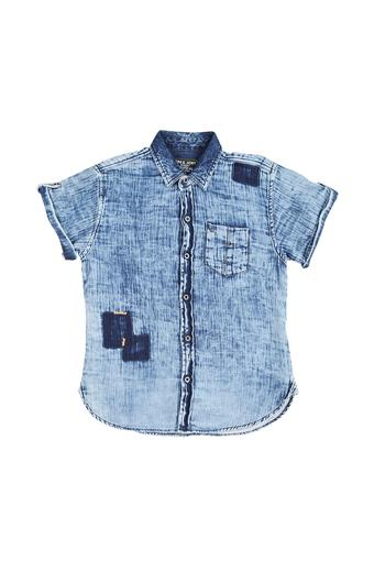 Boys Denim Casual Shirt