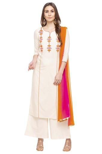 KASHISH -  BeigeSalwar & Churidar Suits - Main