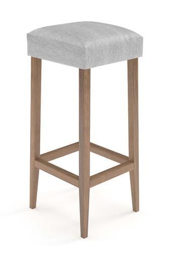 Grey Bella stool