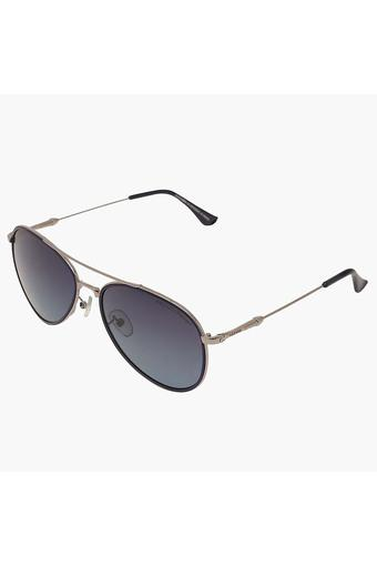 Unisex Full Rim Polarized Lens Aviator Sunglasses -AZ60021C035