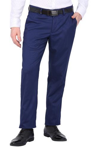 LOUIS PHILIPPE -  Mid BlueCargos & Trousers - Main