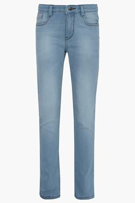 Boys 5 Pocket Mild Wash Jeans