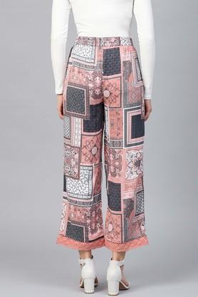 Womens Printed Casual Palazzos
