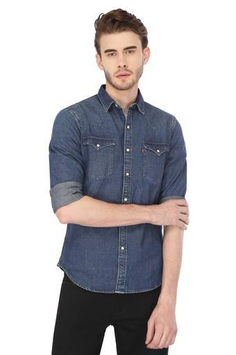 LEVIS -  Blue Shirts - Main
