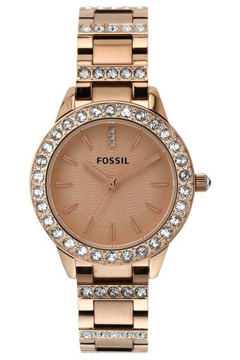 Womens Analogue Stainless Steel Watch - ES3020I