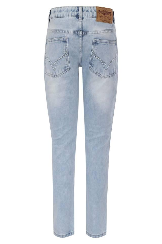 Boys Skinny Fit Distressed Jeans