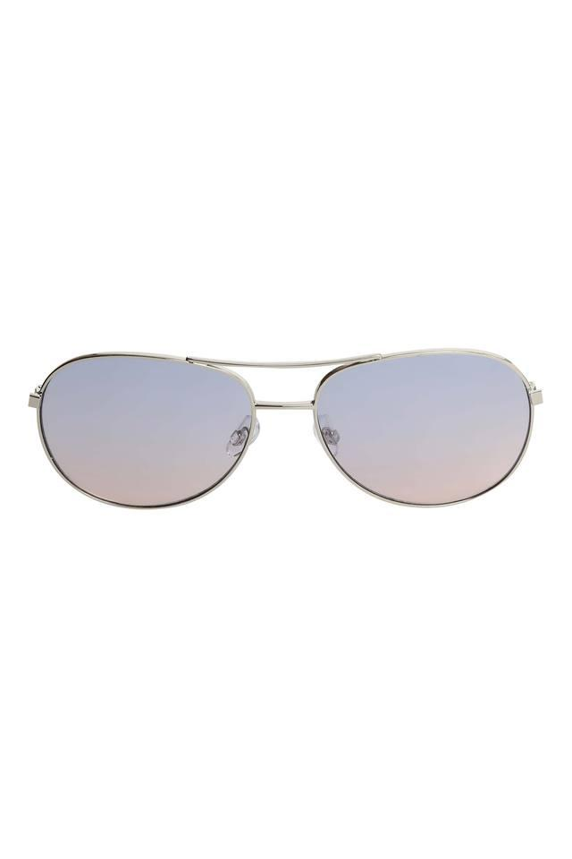 Womens Aviator UV Protected Sunglasses with Case