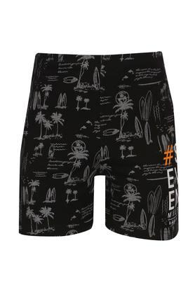 Boys 3 Pocket Printed Shorts