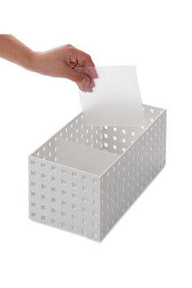 Stackable Drawer Organizer Bin - Shape of Bricks