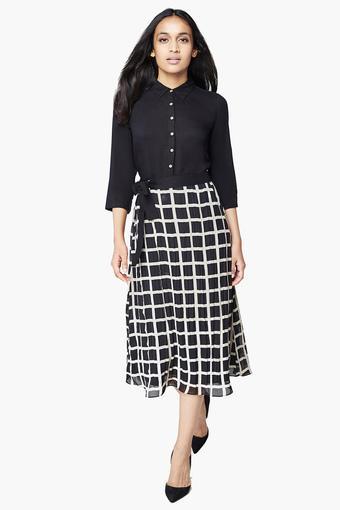 Calf Length Dress
