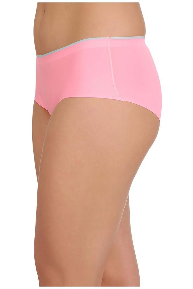 Womens Mid Waist Solid Boy Shorts